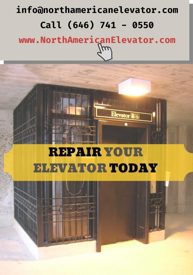 REPAIR YOUR ELEVATOR TODAY
