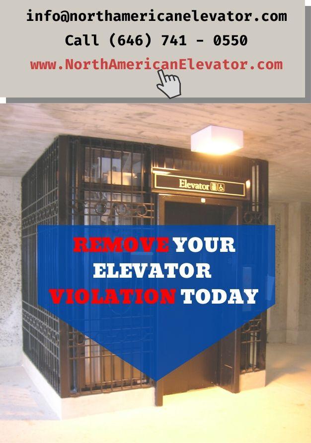 Remove your elevator violation today